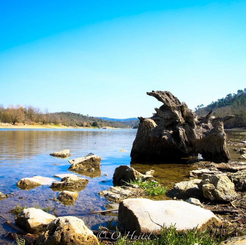 Le Lac de Saint Cassien. Photo © Olivier Huitel.