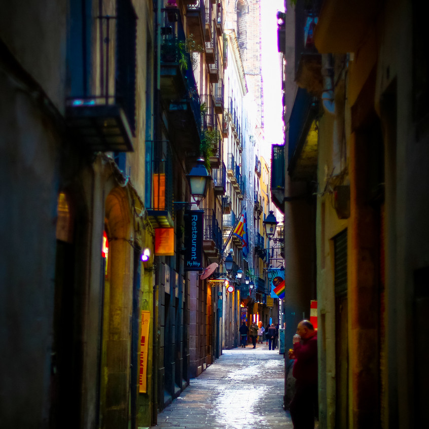Barcelone. Photo © Olivier Huitel.