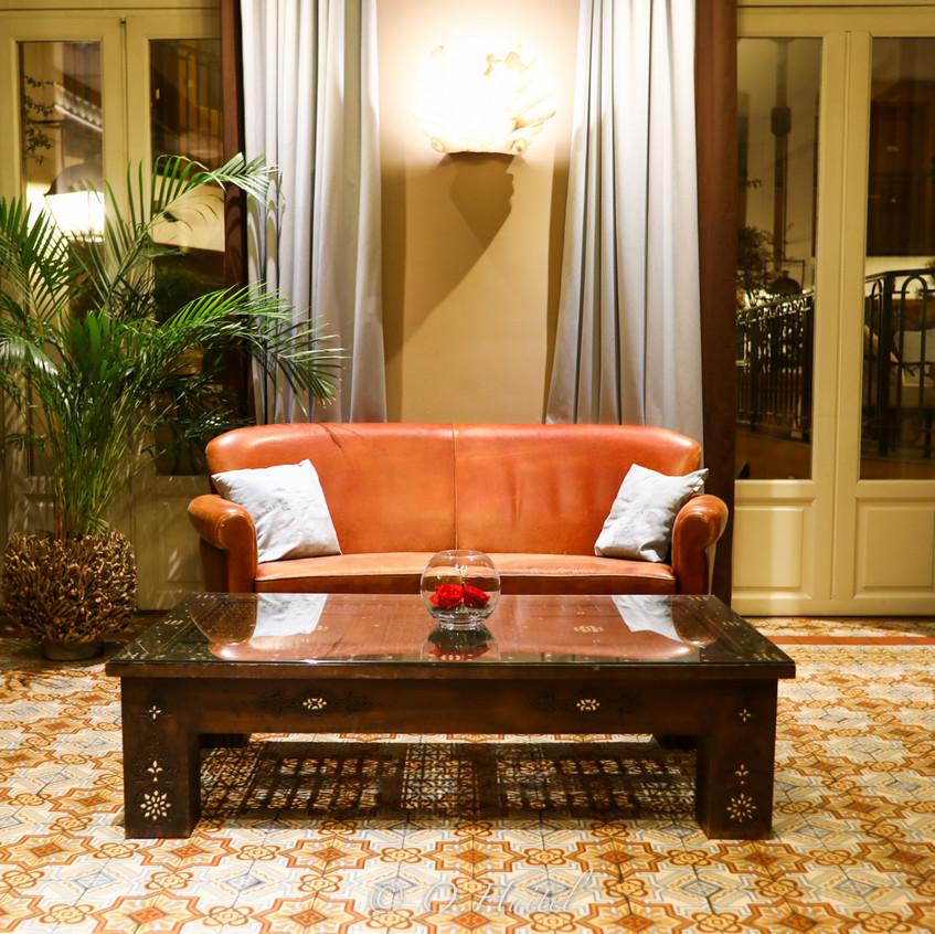Le Lounge de l'hôtel Ellington