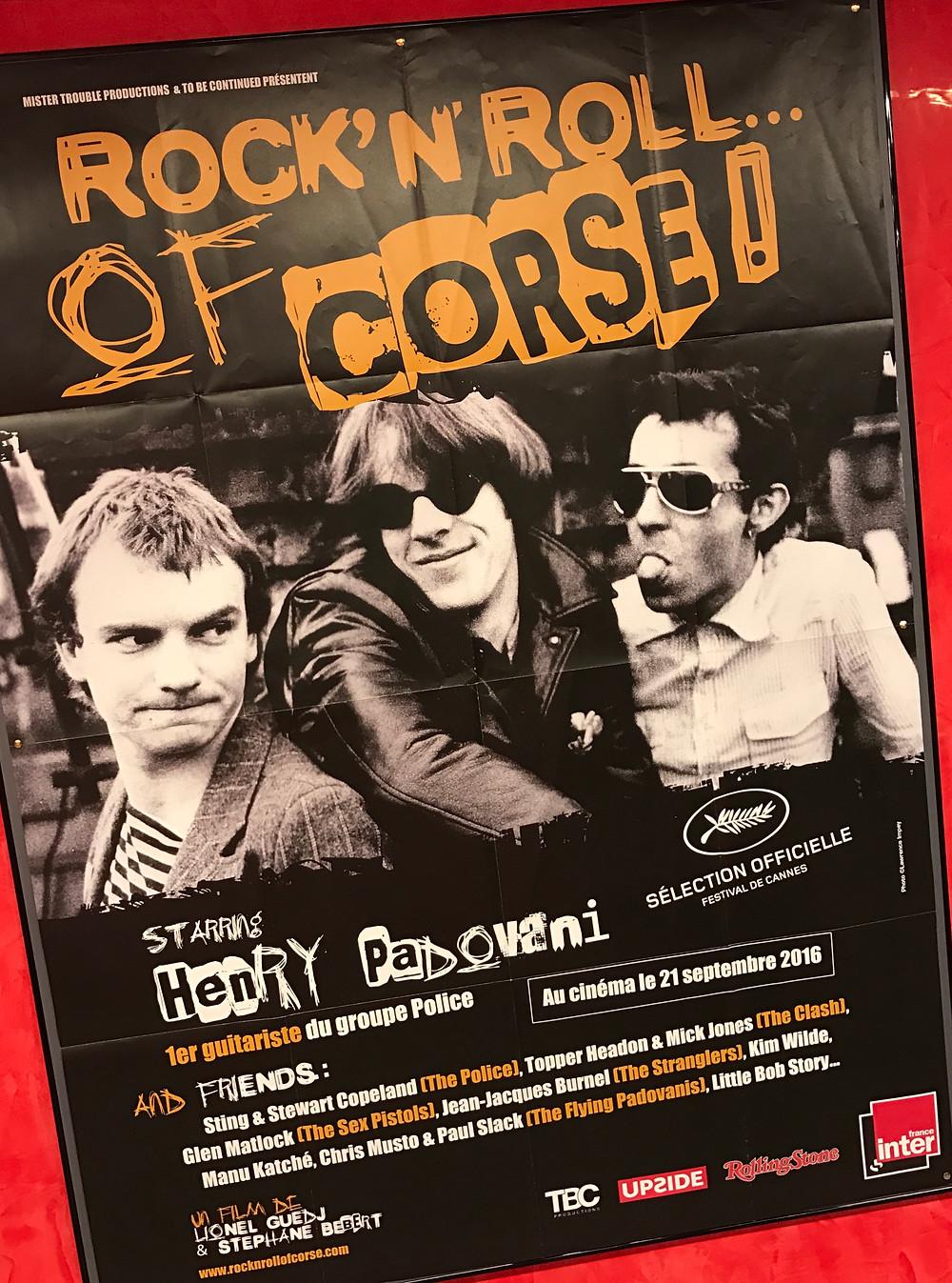 """""""Rock'n'Roll of Corse"""" ou l'itinéraire hors du commun d'un enfant du Rock."""