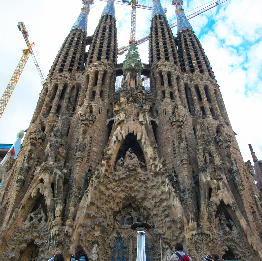 La Sagrada Familia. Photo © Olivier Huitel.