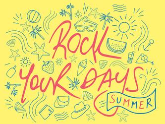 Rock Your Days fait bouger votre été