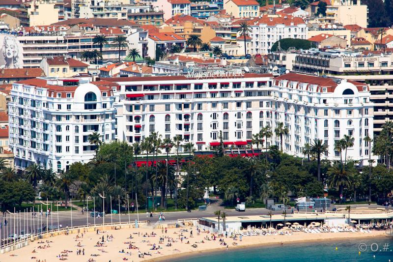 L'hôtel Majestic Barrière à Cannes.