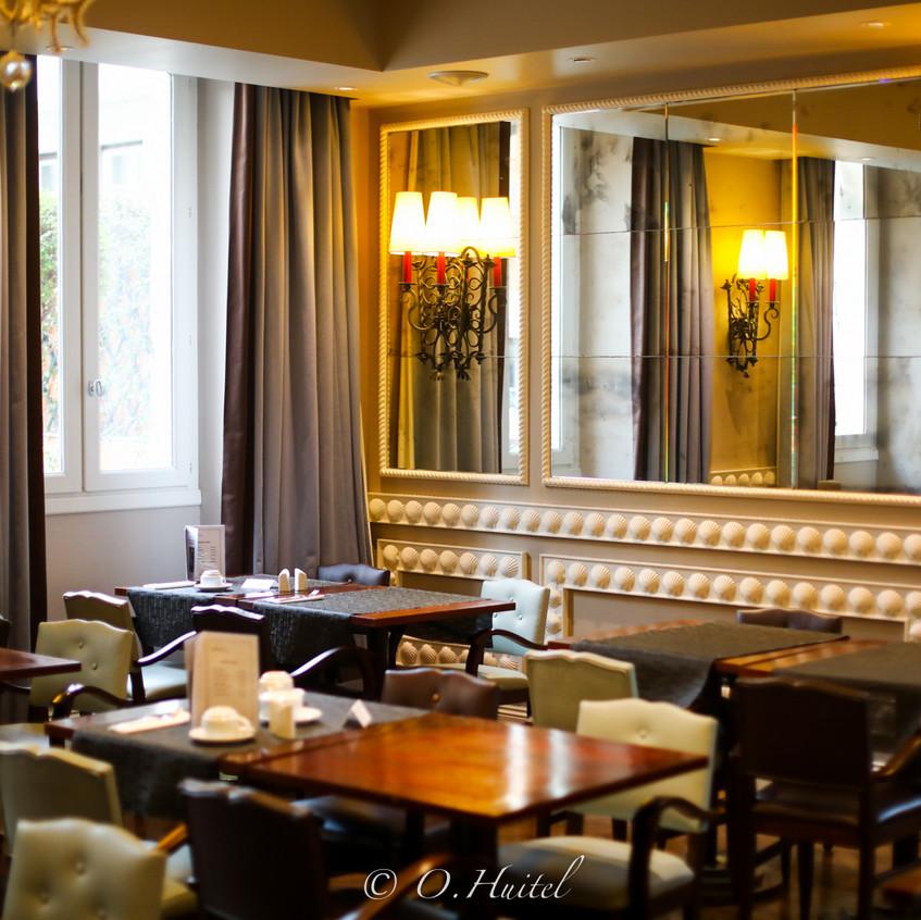 La salle de petit-déjeuner de l'hôtel Ellington