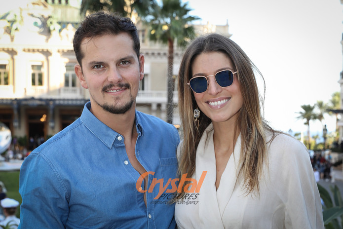 Laury Thilleman et Juan Arbelaez, Monaco.