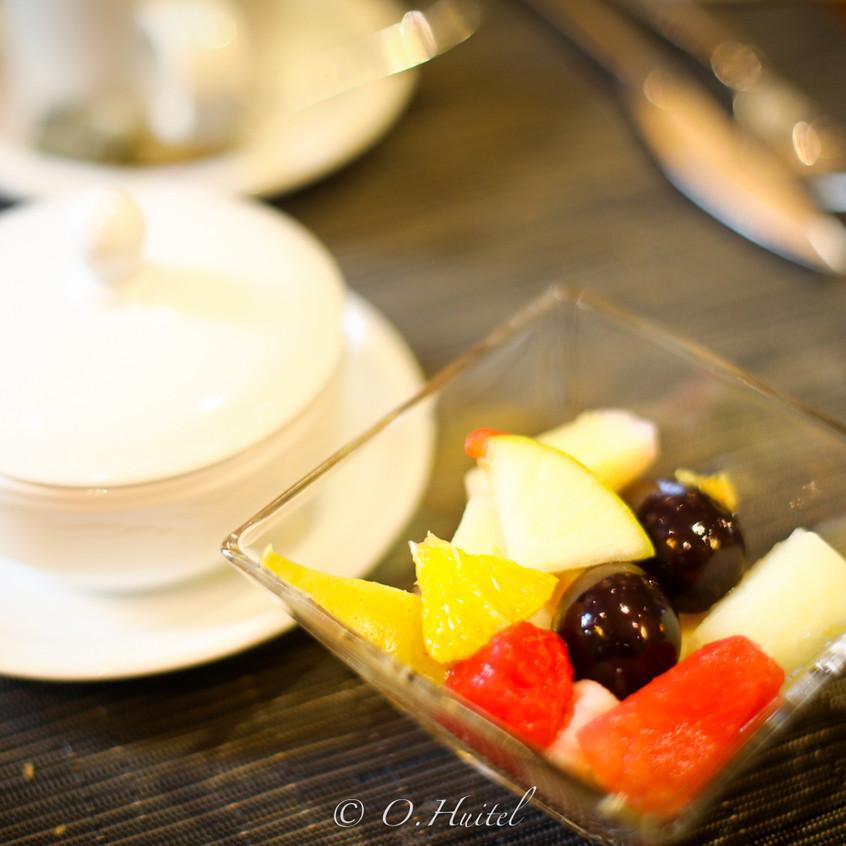 Petit-déjeuner à l'hôtel Ellington