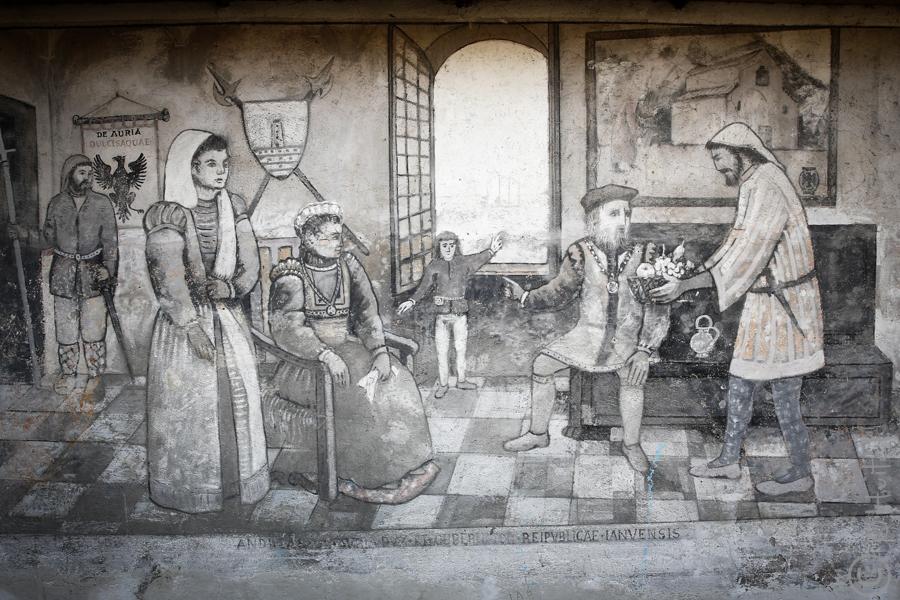 Fresque des Doria.