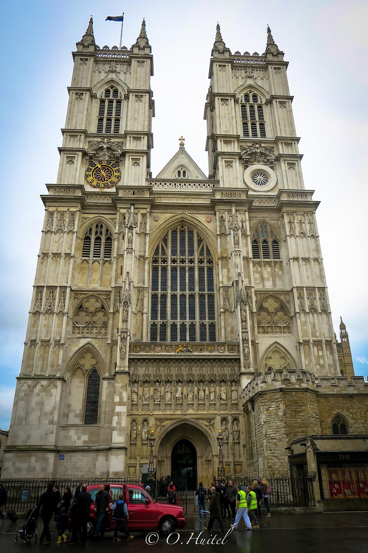 L'abbaye de Westminster. Photo © Olivier Huitel.