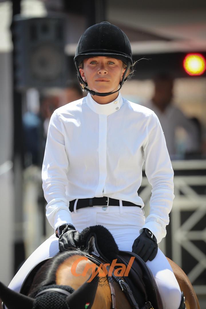 Mary-Kate Olsen, Jumping de Monte-Carlo.