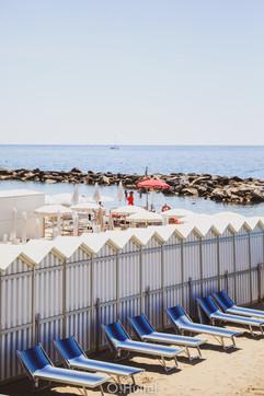 Sanremo Beach.