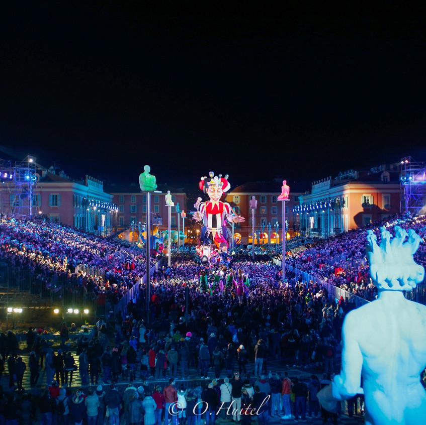Le Carnaval de Nice. Photo © Olivier Huitel.
