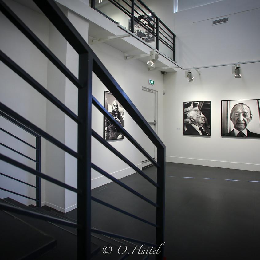 Exposition 'Helmut Newton Icônes',Musée de la photographie Charles Nègre, Nice. Photo © Olivier Huitel.