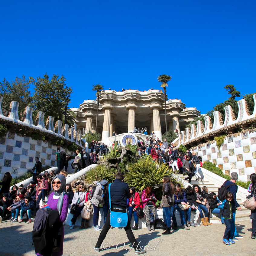 Parc Guell. Photo © Olivier Huitel.