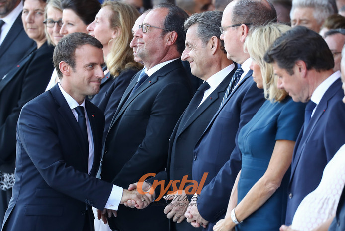 Commémorations attentat de Nice.