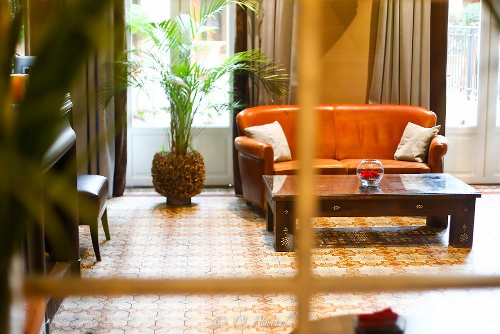 Le Lounge de l'hôtel Ellington. Photo © Olivier Huitel.