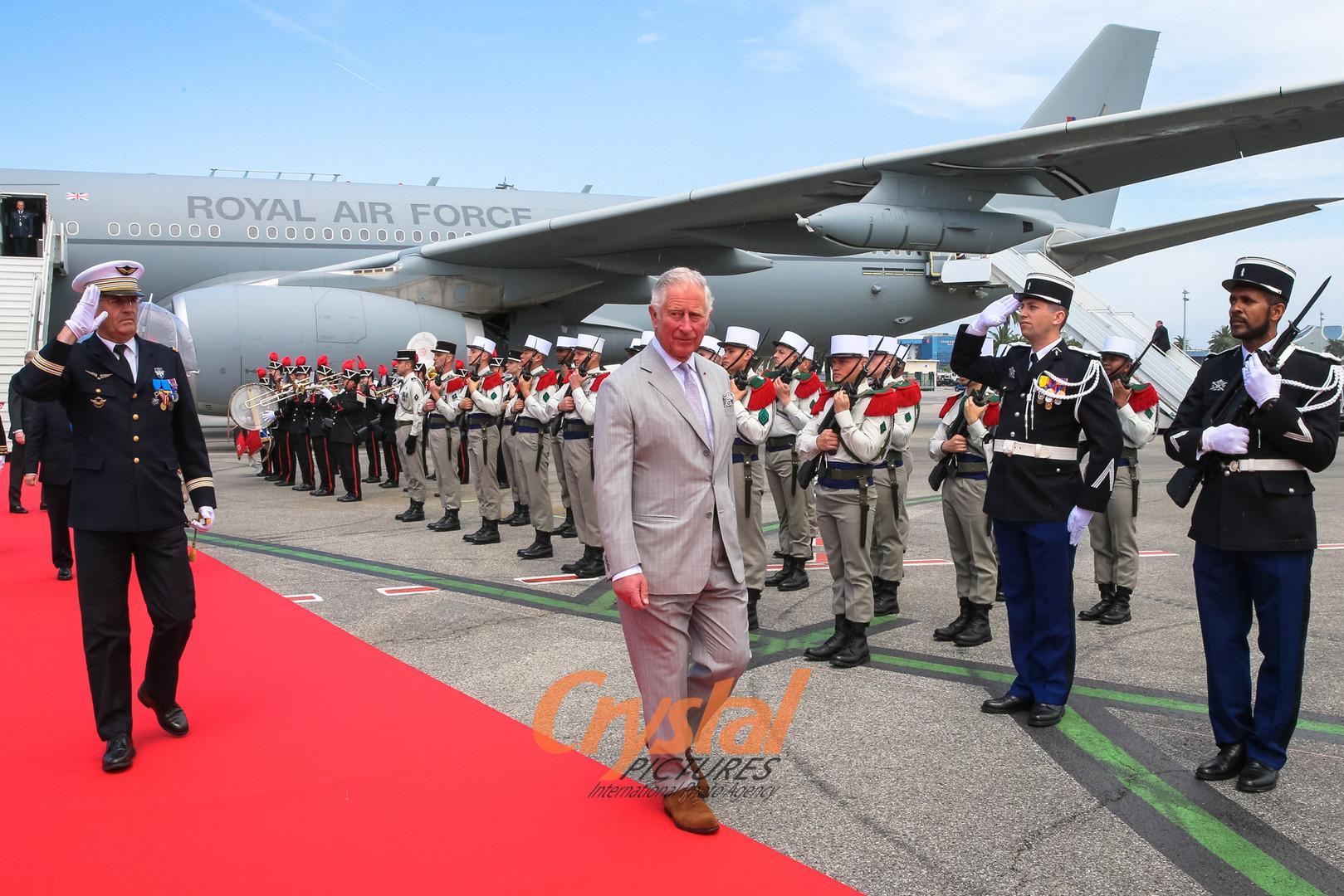 Charles et Camilla en visite officielle à Nice.
