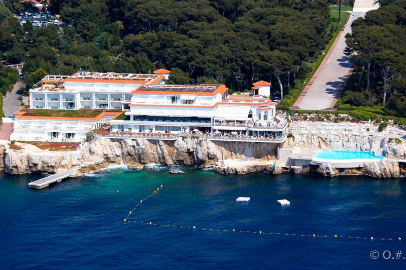 L'hôtel du Cap Eden-Roc à Antibes.