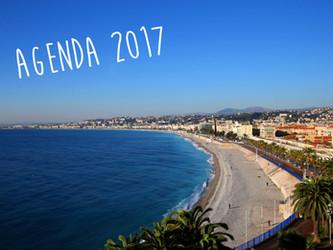 Nice : l'agenda 2017