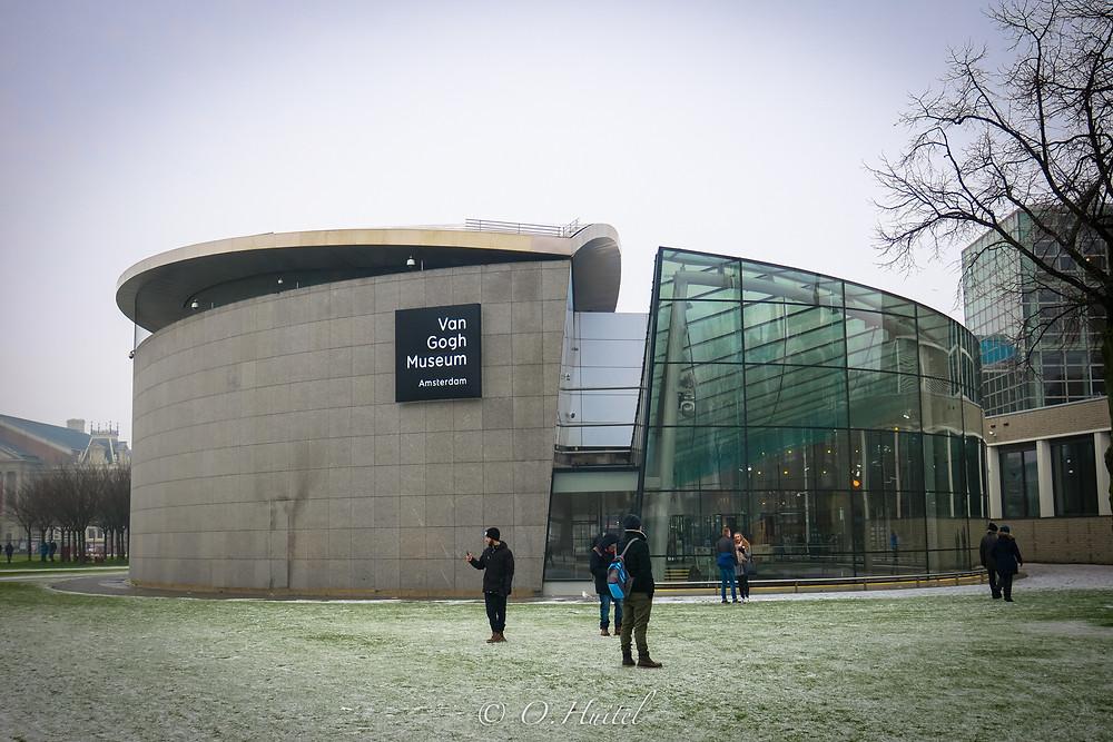 Le musée Van Gogh.