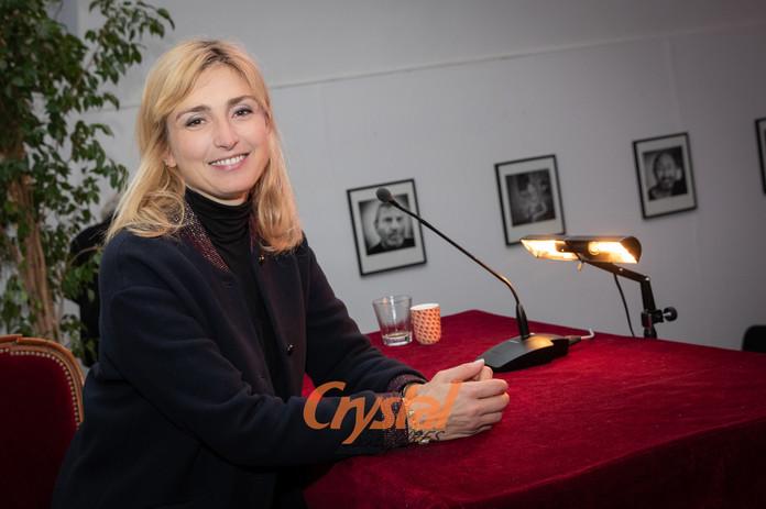 Julie Gayet au Festival Cinéroman, Nice.