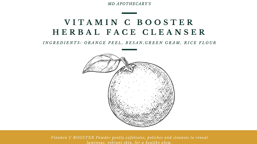 Vitamin C Booster Herbal Face Cleanser