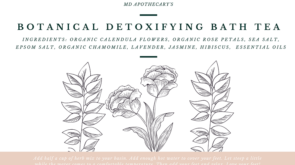 Botanical Detoxifying Bath Tea