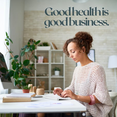 10 Tips for Good Health at Work