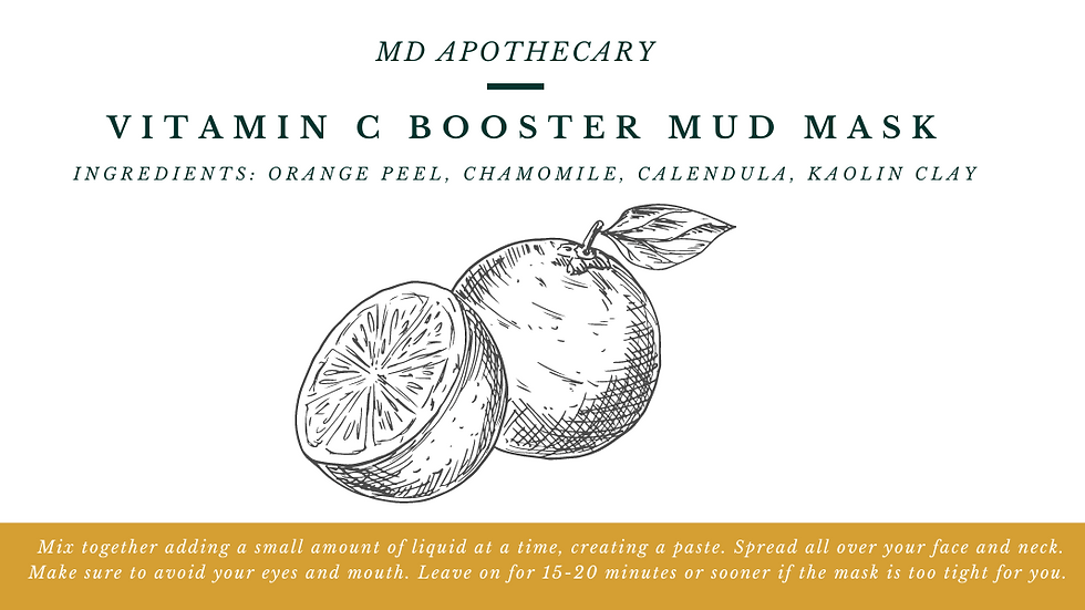 Vitamin C Booster Mud Mask