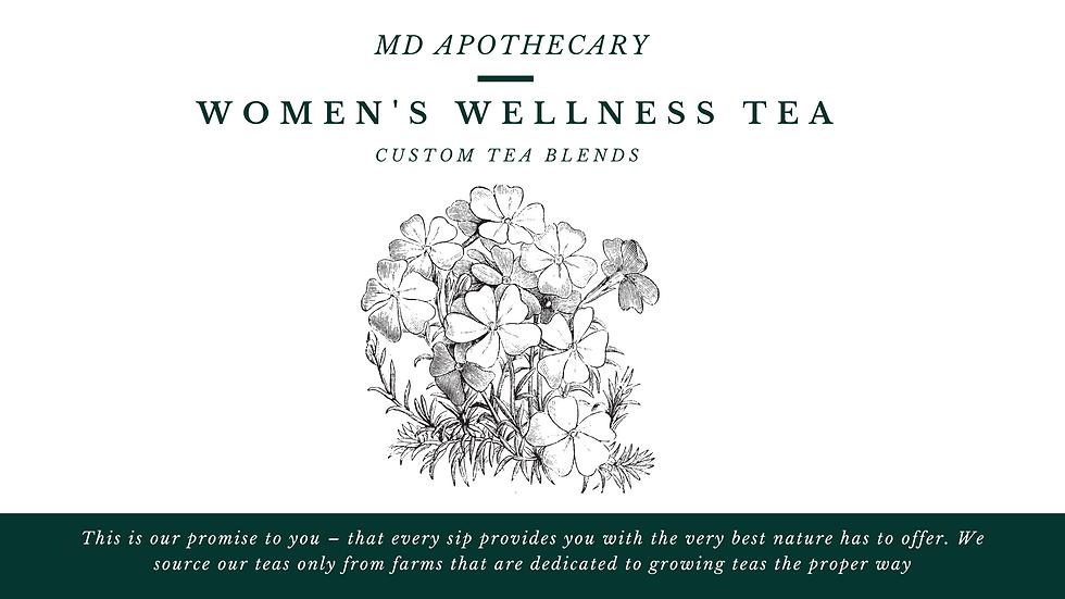 Women'sWellnessCustom Tea Blend