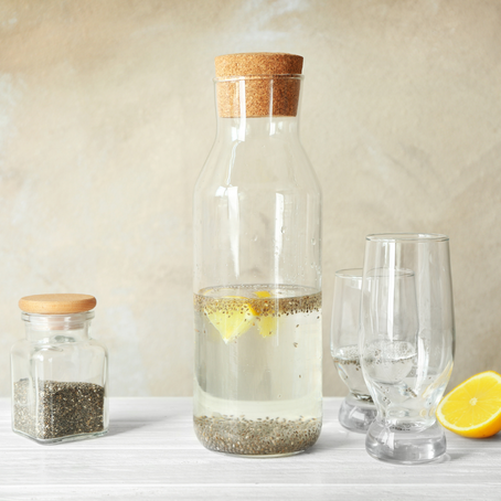 The Benefits of Lemon Chia Seed Water & How To Make It On Your Own