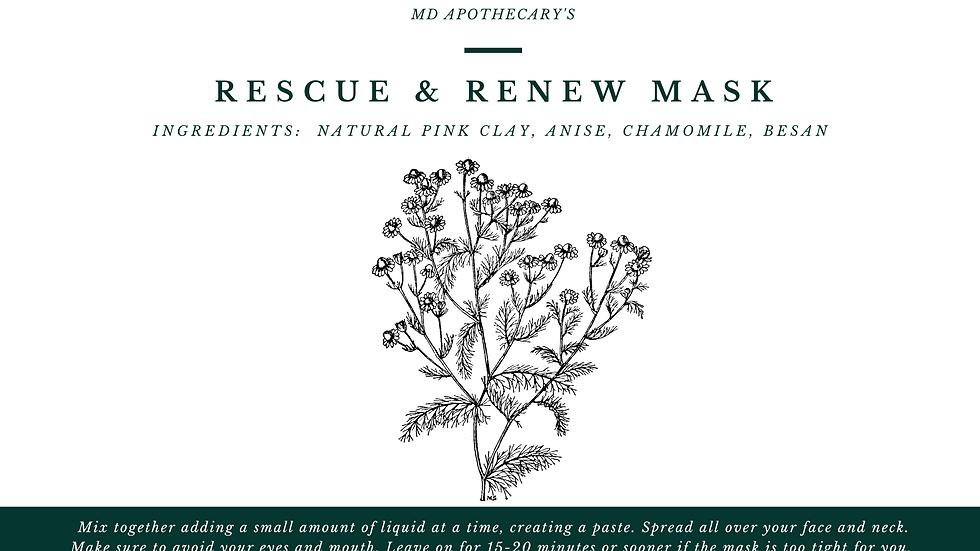 Rescue & Renew Mask