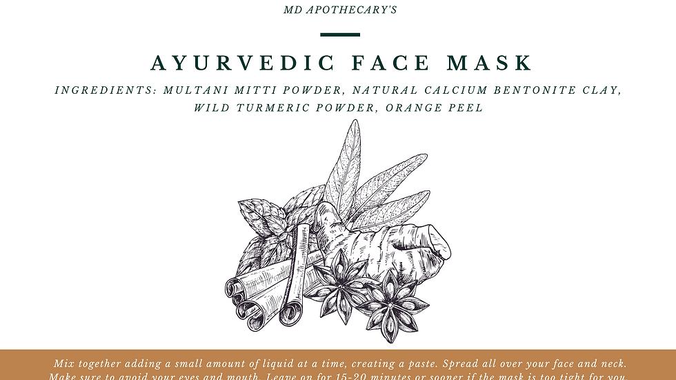 Ayurvedic Face Mask
