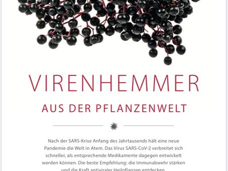 Virenhemmer aus der Pflanzenwelt                                         aus NATUR & HEILEN 5/2020