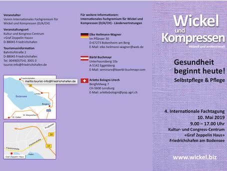 4. Internationale Fachtagung für Wickel und Kompresse 10. Mai 2019 Friedrichshafen am Bodensee