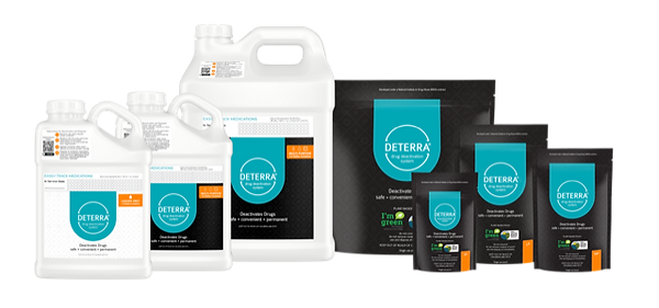 Deterra products