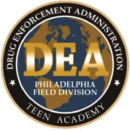 DEA Teen Academy Logo