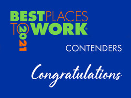 Best Places to Work 2021 Contender