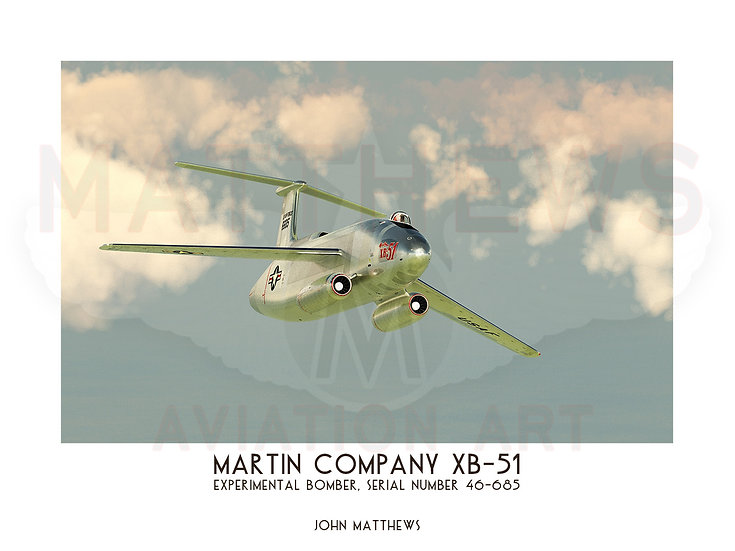 Martin Company XB-51 (46-685)