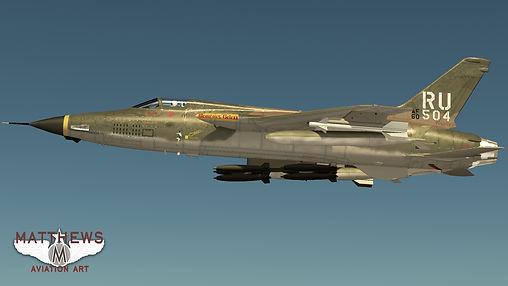 Republic F-105D Thunderchief Wallpaper 4