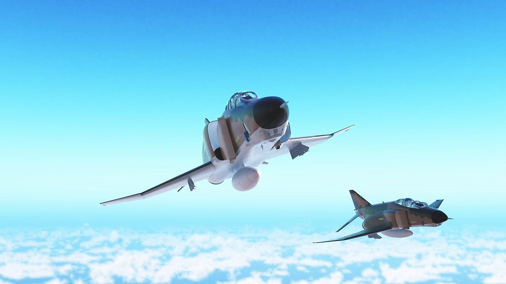 McDonnell Douglas RF-4C Phantoms