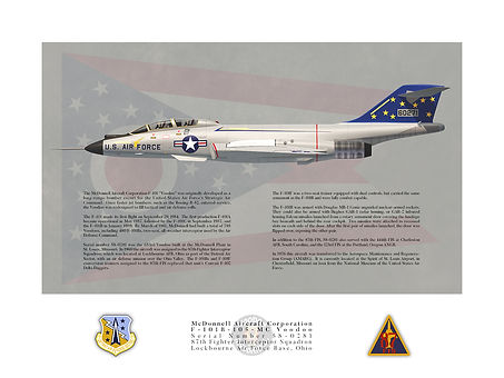 F-101B Voodoo 87th FIS Profile