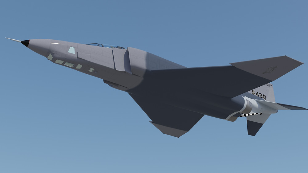 McDonnell Douglas RF-4C S/N 67-438