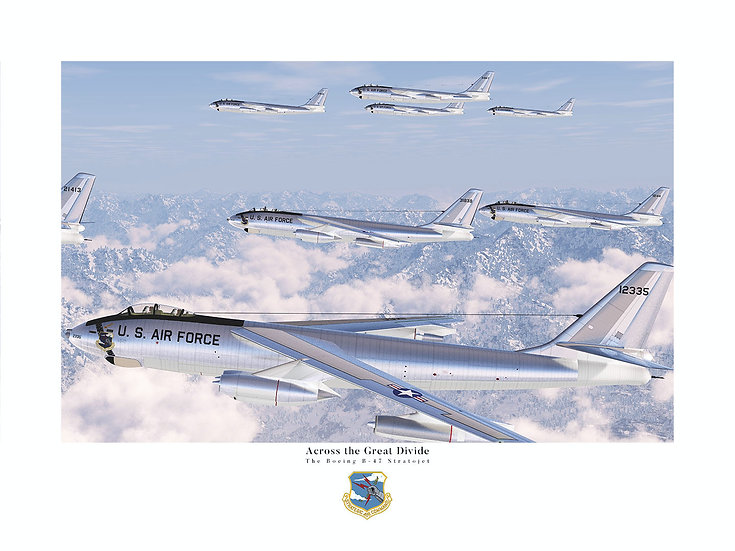Across the Great Divide: B-47 Stratojets