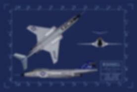 McDonnell F-101B Voodoo Blueprint