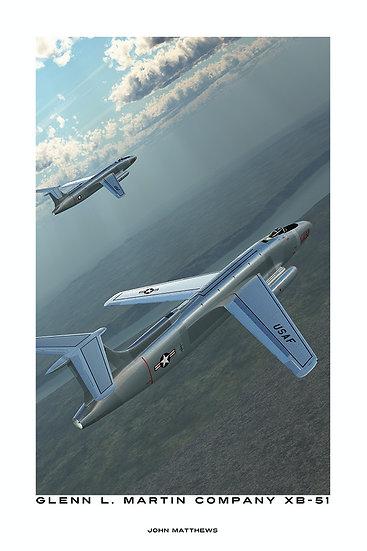 Martin XB-51 Experimental Bomber