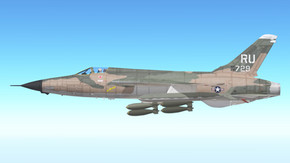 F-105 Thunderchief Reverse Camouflage
