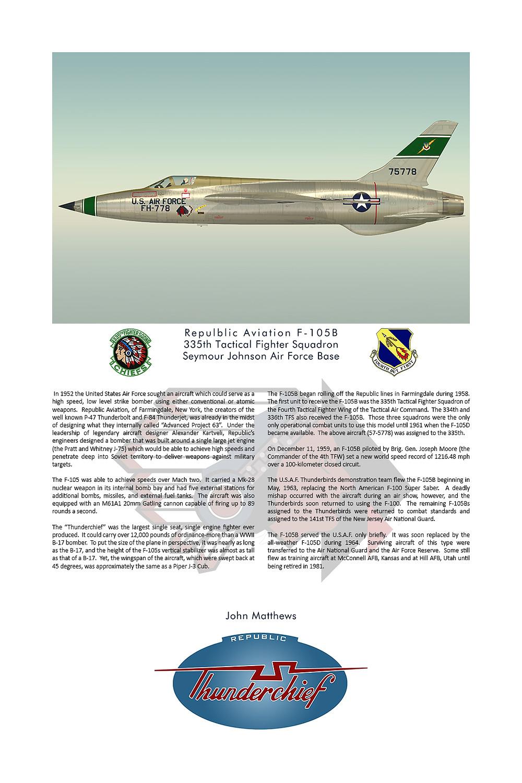 335th TFS F-105B Thunderchief
