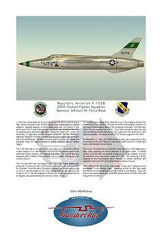 Republic F-105B Thunderchief