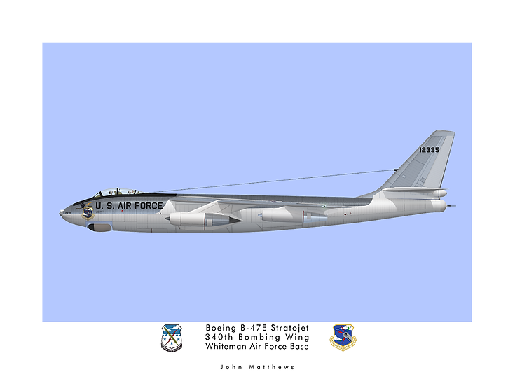 340th Bomb Wing Boeing B-47E