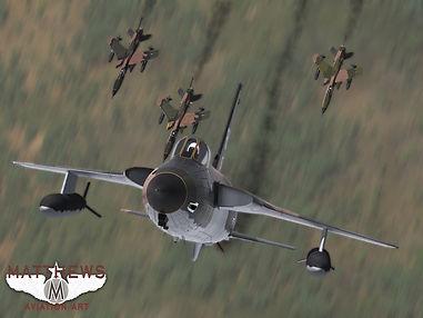 F-105D Thunderchief Missing Man Formatio